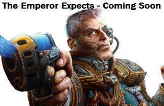 The Emperor Expects by Gav Thorpe, published by Black Library